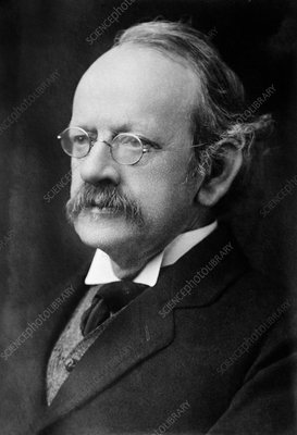 J. J. Thomson, British physicist