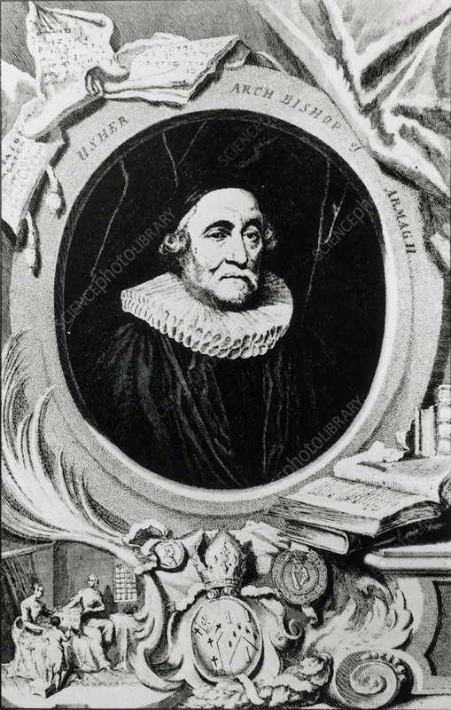 James Ussher, Irish Bishop of Armagh & creationist