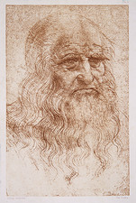 Leonard da Vinci, self-portrait
