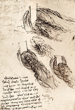Notes by Leonardo da Vinci