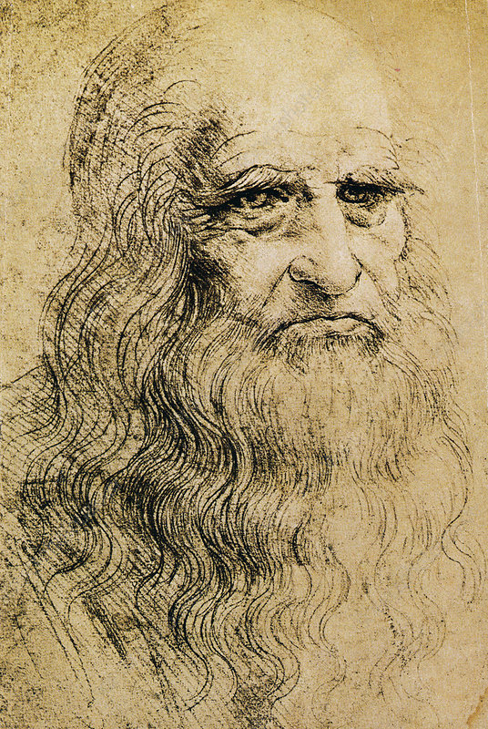 Da Vinci Self-Portrait