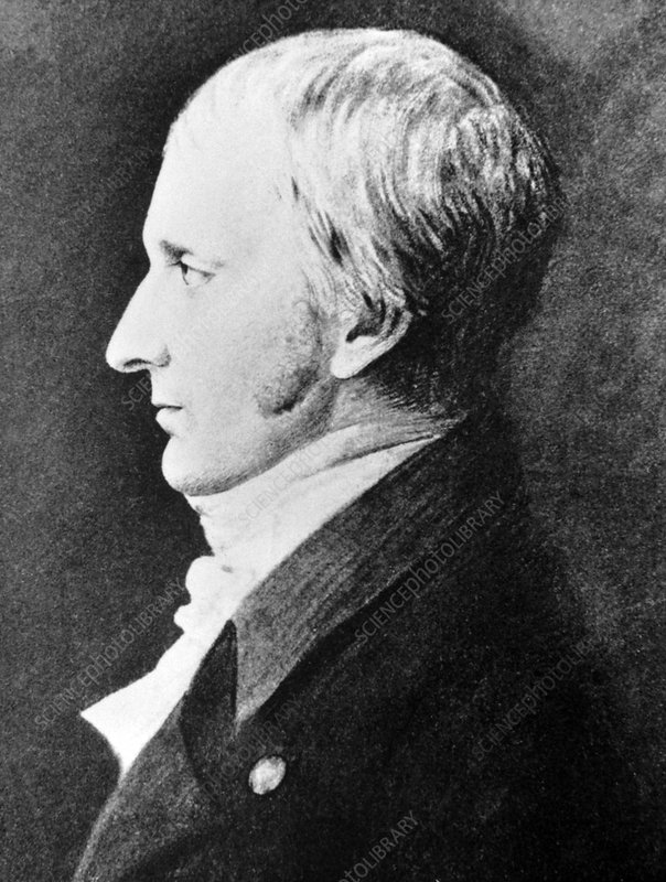 Portrait of the British chemist T. Wedgwood