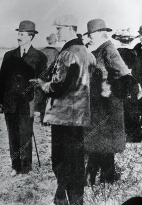 Wright Brothers at Pau, 1909