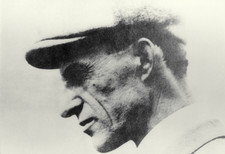 Portrait of American aviator, Wilbur Wright
