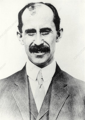 Portrait of American aviator, Orville Wright
