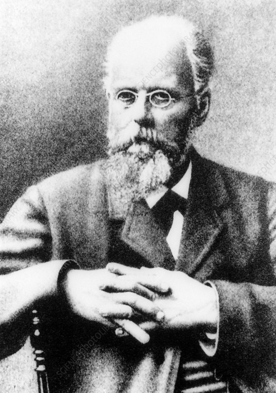 Portrait of German biologist, August Weismann