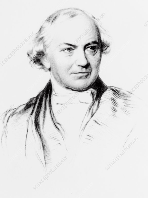 Portrait of William Whewell, British polymath
