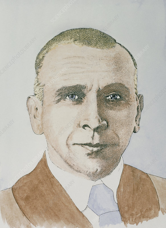 German explorer and geophysicist Alfred Wegener