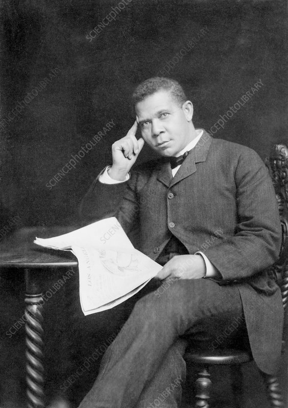 Booker T. Washington, US educator