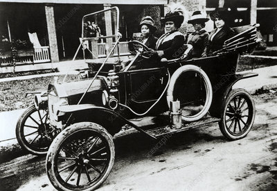 Madam C. J. Walker, US businesswoman