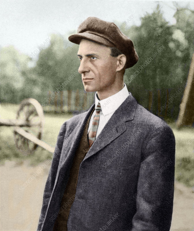 Wilbur Wright, US aviation pioneer