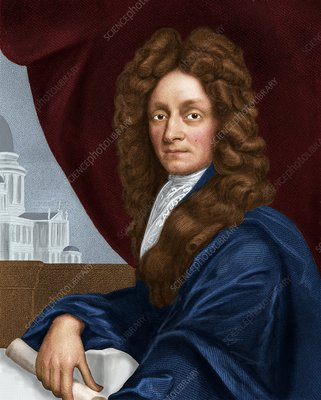 Sir Christopher Wren, English architect