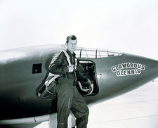 Charles Chuck Yeager. American pilot