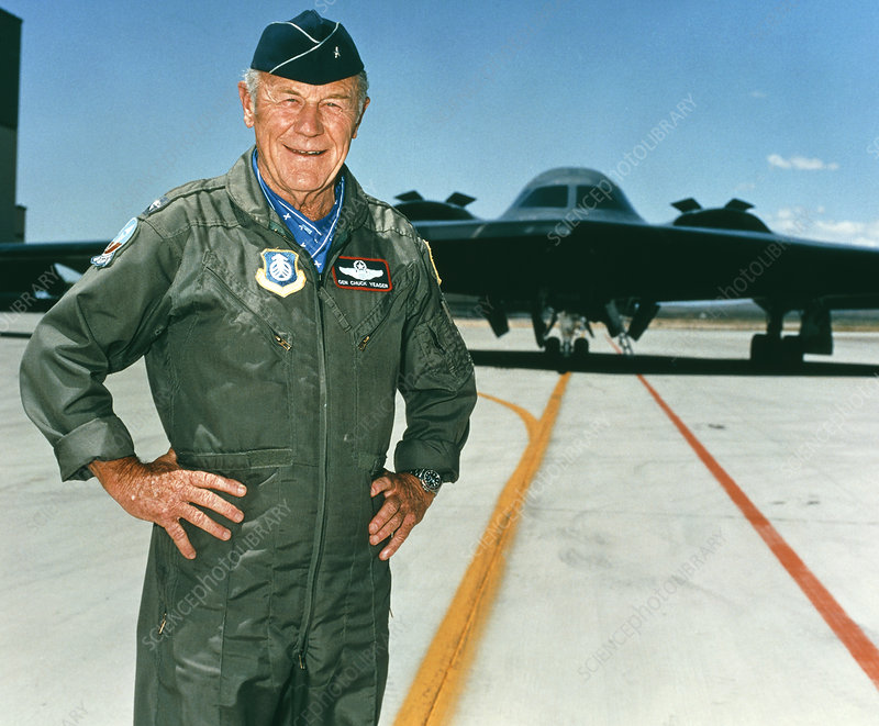 Charles Chuck Yeager, American pilot