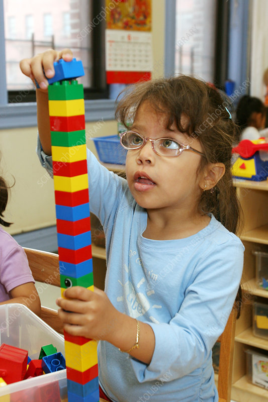 Building Blocks in Day Care