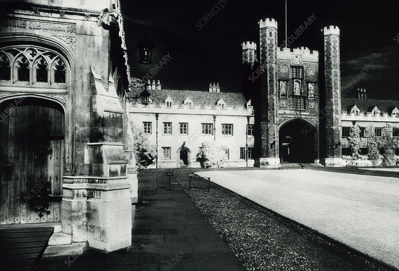 View of Trinity College, Cambridge - Stock Image - H465/0029