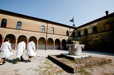 Ramazzini Foundation courtyard