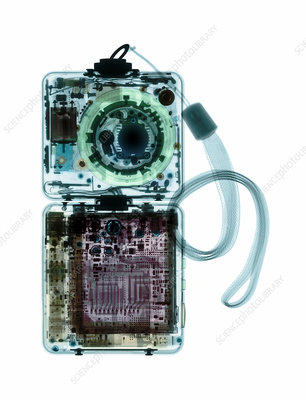 Digital camera, coloured X-ray