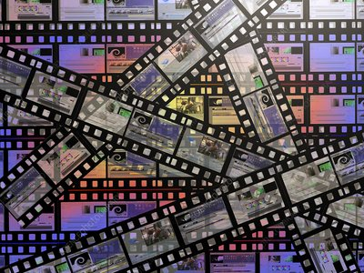 Photographic film, computer artwork