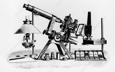 Powell and Lealand Number 1 Microscope