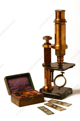 Historical microscope