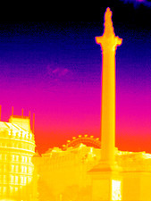 Nelson's Column, thermogram