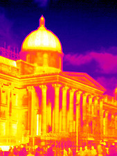 National Portrait Gallery, thermogram