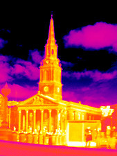 St-Martin-in-the-Fields, thermogram