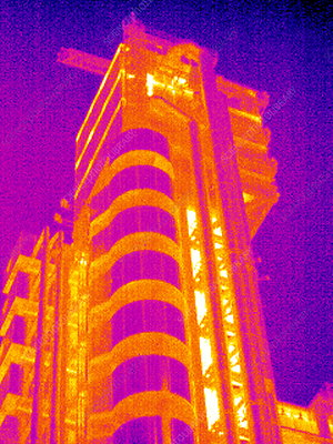 Lloyd's of London, UK, thermogram