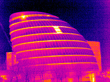 London Assembly Building, UK, thermogram