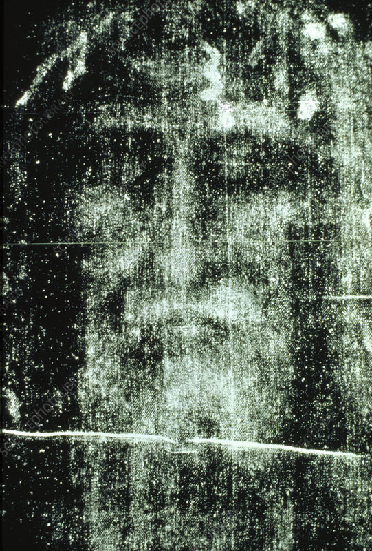 of part of Turin Shroud