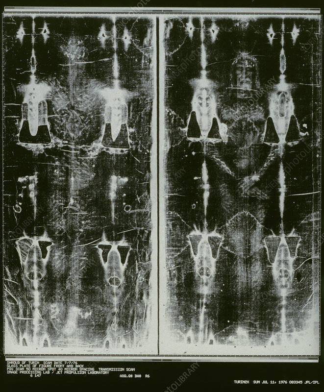 Shroud Of Turin Negative
