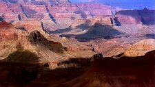 Grand Canyon cloud shadows