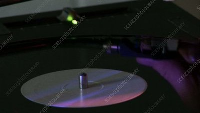 Turntables at a club