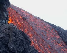 Mt Etna Lava flow