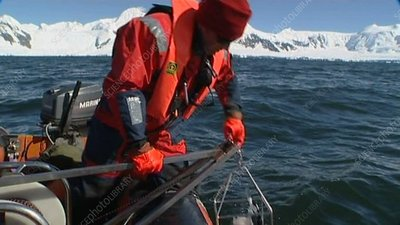 CTD research, Antarctic
