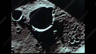 Apollo 8 lunar surface views