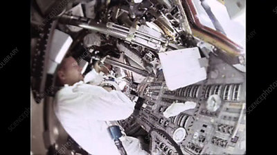 Apollo 11 life onboard the Command Modul