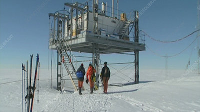 CASLAB researchers, Antarctica
