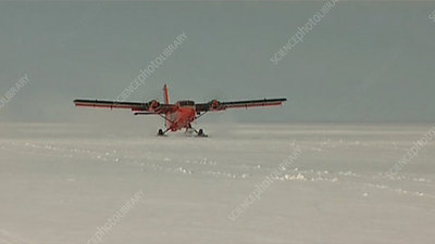 Antarctic Twin Otter plane