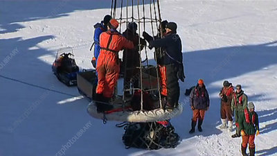 Antarctic supply delivery