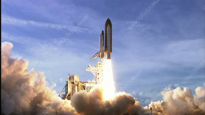 Launch of Space Shuttle Atlantis STS-122