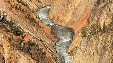 Yellowstone River, Wyoming, USA