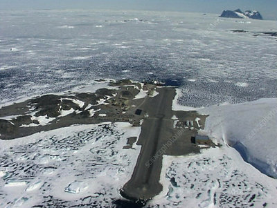 Aerial view of Rothera