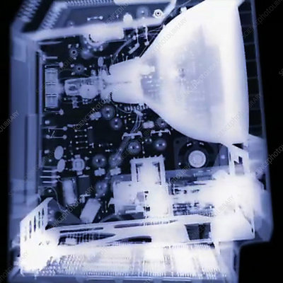 X-Ray of a computer