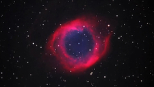 Zoom in to Helix Nebula
