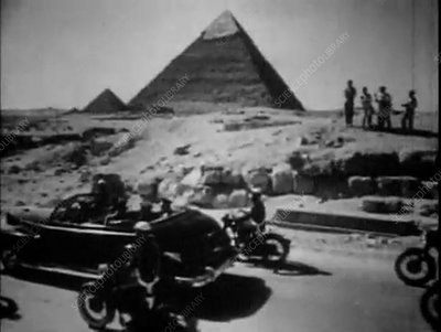 Gagarin in Egypt