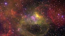 Nebula in the Large Magellanic Cloud