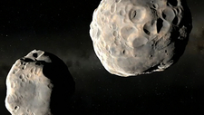Binary asteroid 90 Antiope