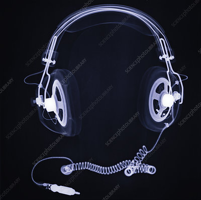 Headphones, X-ray
